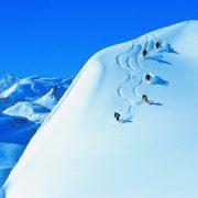 off piste skiing in st anton