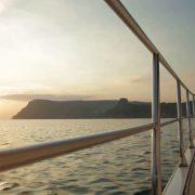 sunset motor yacht mediterranean
