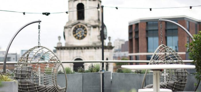 rooftop swing seats london