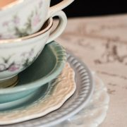 tea cups and sources