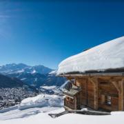 snow sun chalet