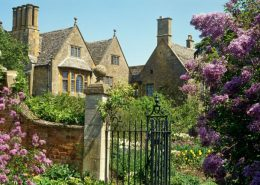 flowers country house
