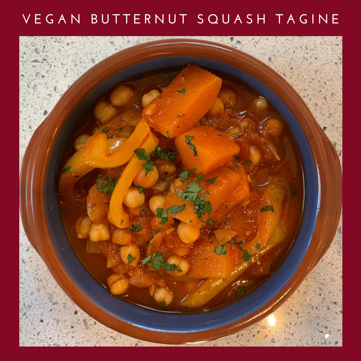 Vegan Butternut Squash Tagine Recipe | Veganuary Recipes